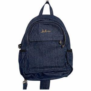Sativa Dark Denim One Strap Backpack
